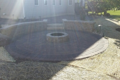 Patio, Firepit, Retaining Wall - Turf and Landscaping, Inc