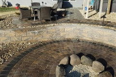 Retaining Wall, Patio, Firepit - Turf and Landscaping, Inc