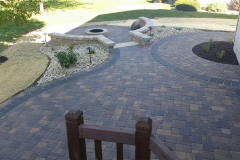 Patio, Firepit - Turf and Landscaping, Inc