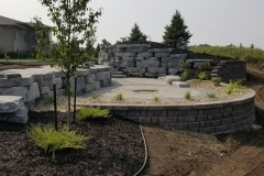 Retaining Wall, Patio - Turf and Landscaping, Inc