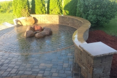 Patio, Seating Wall - Turf and Landscaping, Inc
