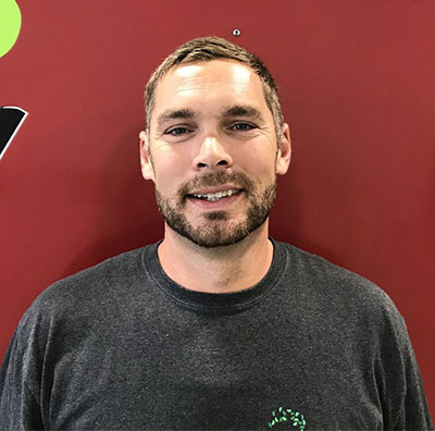Aaron Pattison, landscape professional